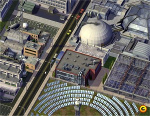 SimCity 4 Sewage Treatment