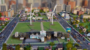 Generating Wind Power in SimCity