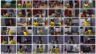 Just a quick collage for those of you who want to analyze things like crazy about the new Sims 4.